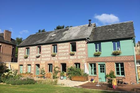 Maison de charme au pays de Caux, 300 m de la mer - Saint-Aubin-sur-Mer - Casa