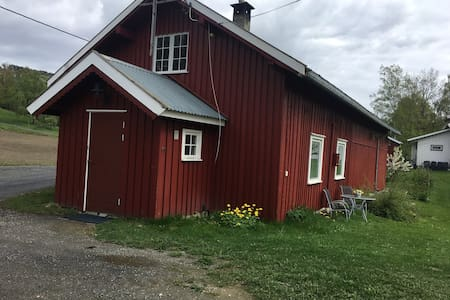 Hus på gård nær Lillehammer