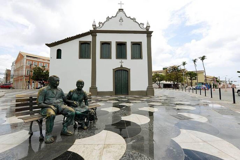 Largo de Santana, onde fica o acarajé de Dinha, o mais famoso da Bahia.
