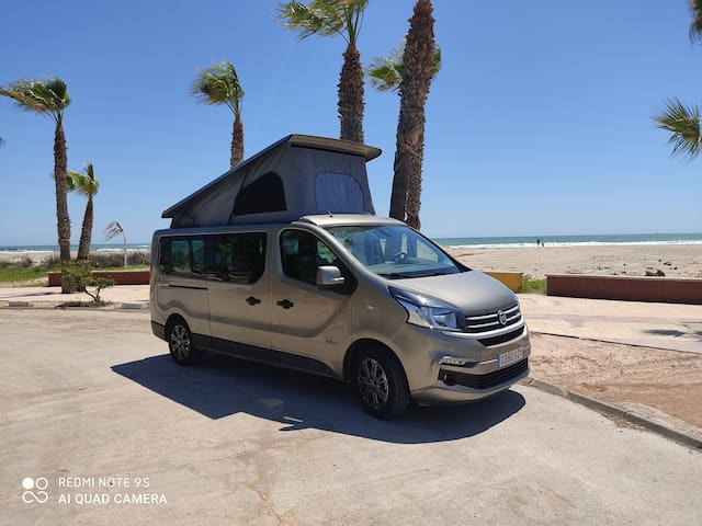 CAMPER FIAT TALENTO FOR TO KNOW NATURA MALLORCA