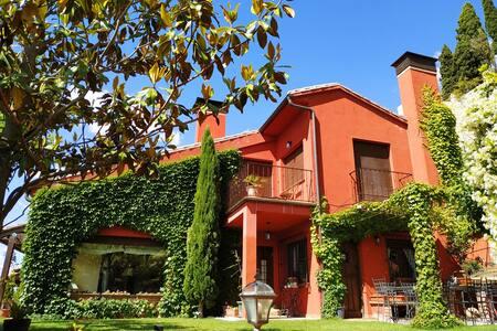 Casa de campo, piscina y chimenea cerca de Madrid