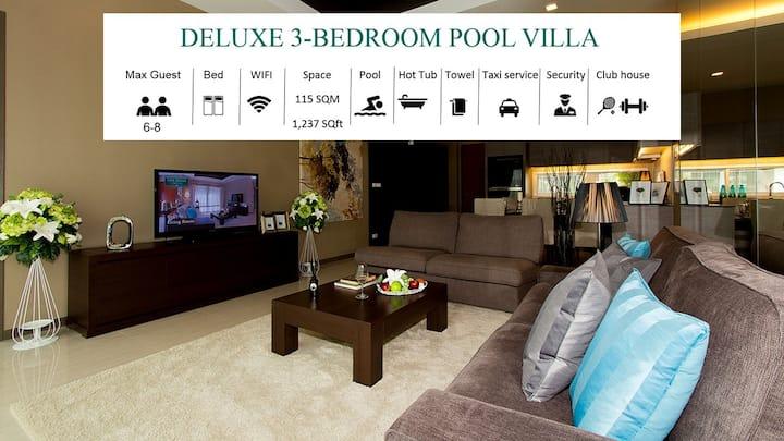 50% OFF 3br PRIVATE Pool Villa | Jagucci