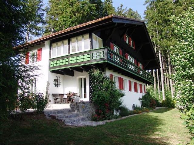 Ferienwohnung – nah am Badesee, mit Bergblick - Lindenberg im Allgäu - Appartement