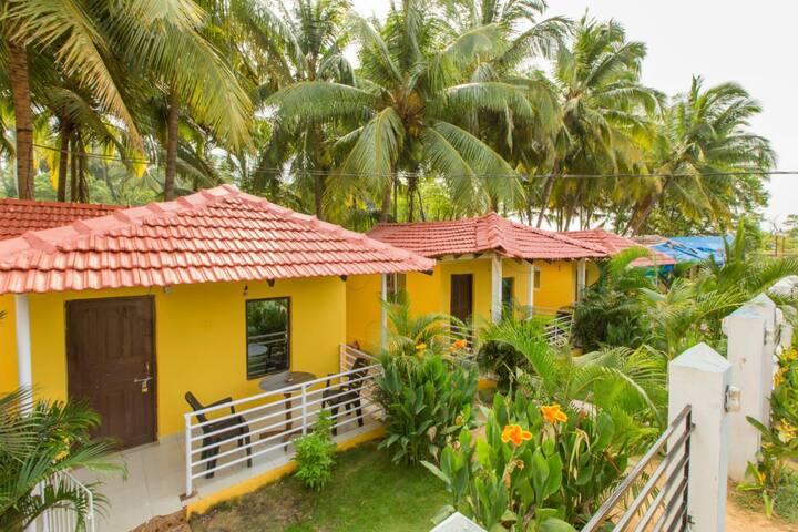 3 cottage in pleasure riverfront