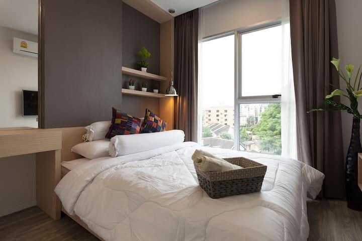 Modern Cozy Appartment at Nimman top location