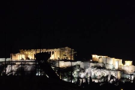 Acropolis-Keramikos View - Top Floor Studio - Athina