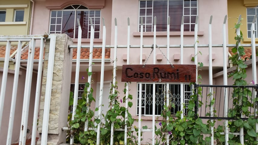 "House Exterior & ""Casa Rumi"" sign"