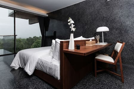 Bedroom with Panoramic View