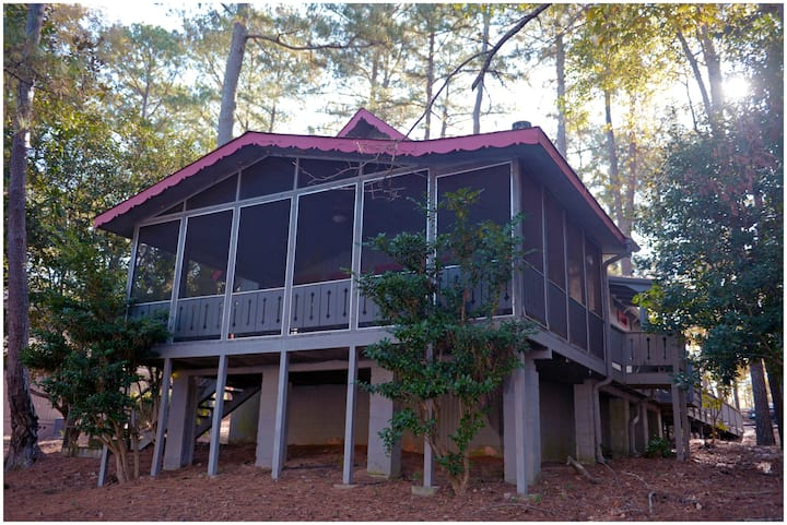 Pine Mountain Club Chalets - Three Bedroom Lakefront #77 -  Pet Friendly