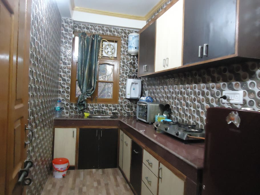 Fully equipped kitchen for your self-catering.