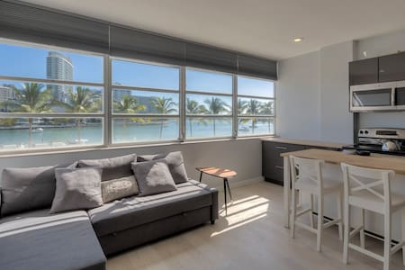 Apartment with stunning water view