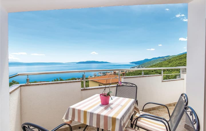 Holiday apartment with 2 bedrooms on 70m² in Matulji