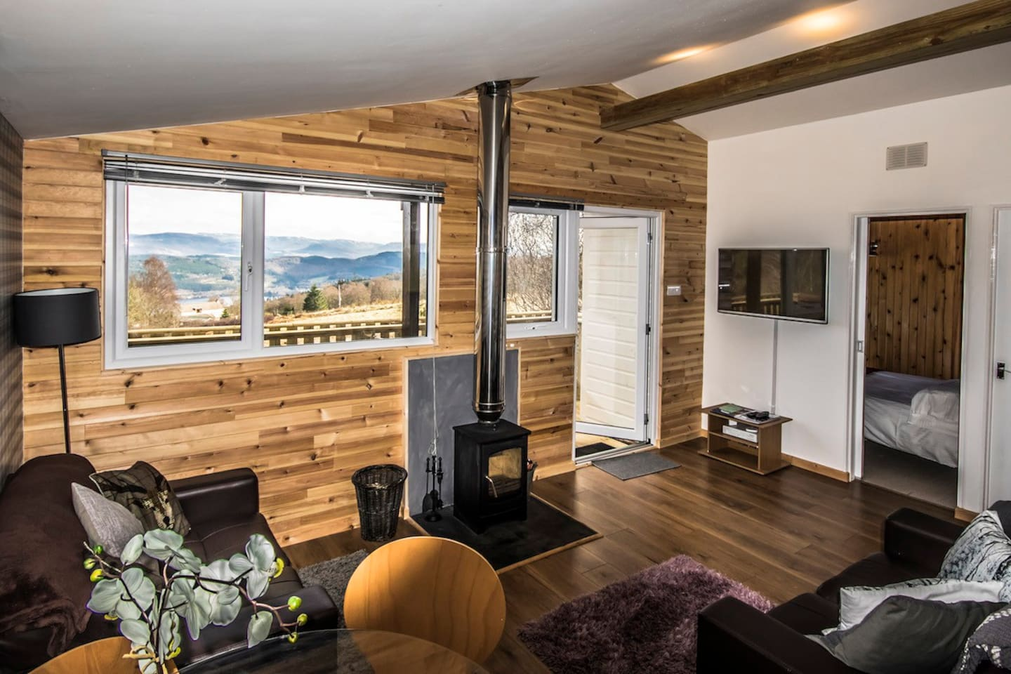 ancarraig lodges self catering above loch ness 12 cabins for