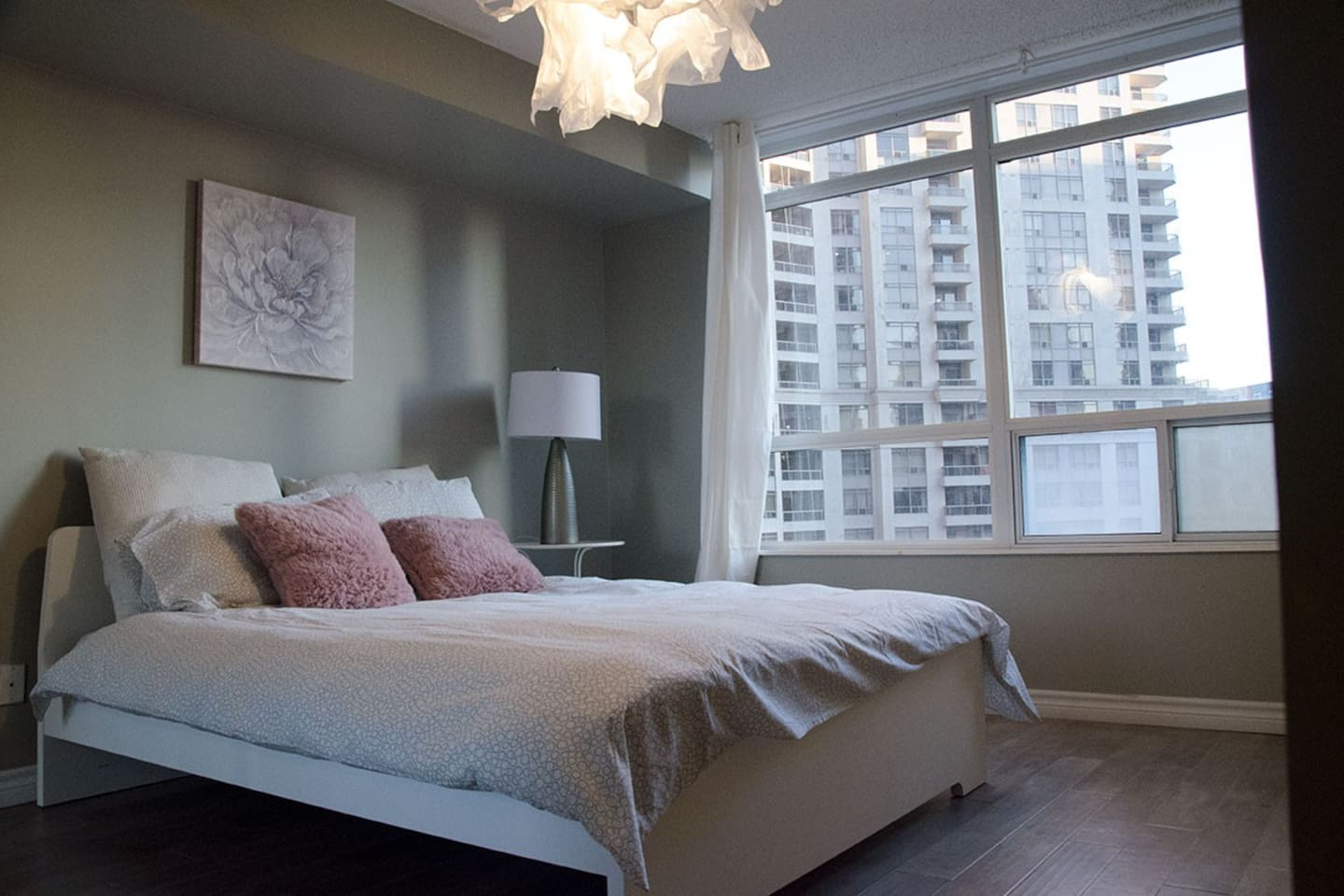 Comfortable Master suite with attached Bathroom. Queen Size