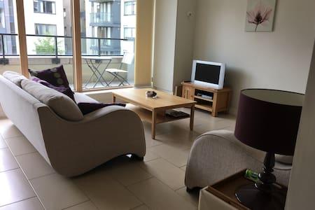 Private room/bathroom in Modern, Bright Apartment - Dublín