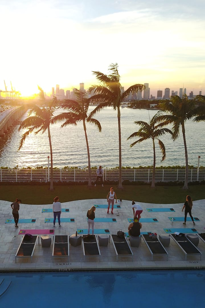 #1 view Sunset Miami