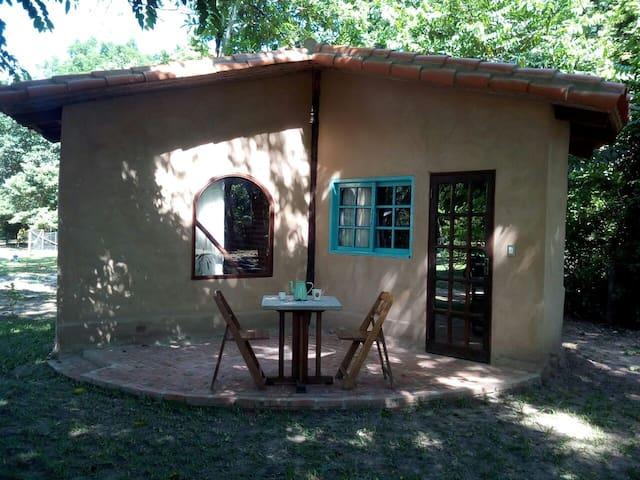 Cabaña rustico chic en Porongo