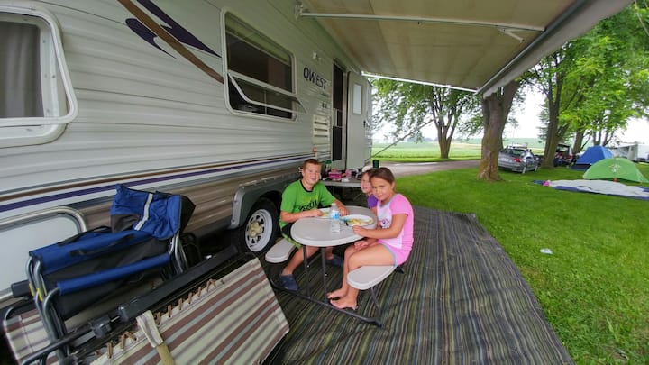 Country Camping on the Farm