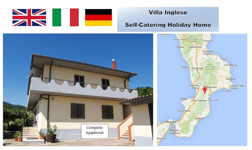Mountain Location Quiet Retreat plus beaches - San Luca - Apartment
