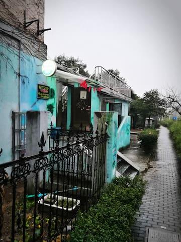 瘦西湖南门300米的阳光房间 - Yangzhou - Vandrarhem