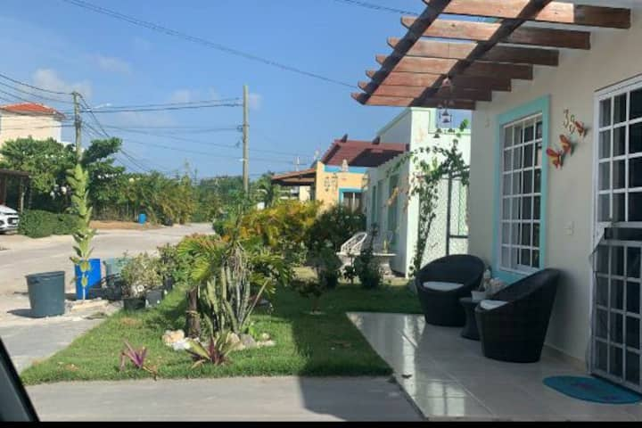 Comfortable private house in punta cana, 2beds.