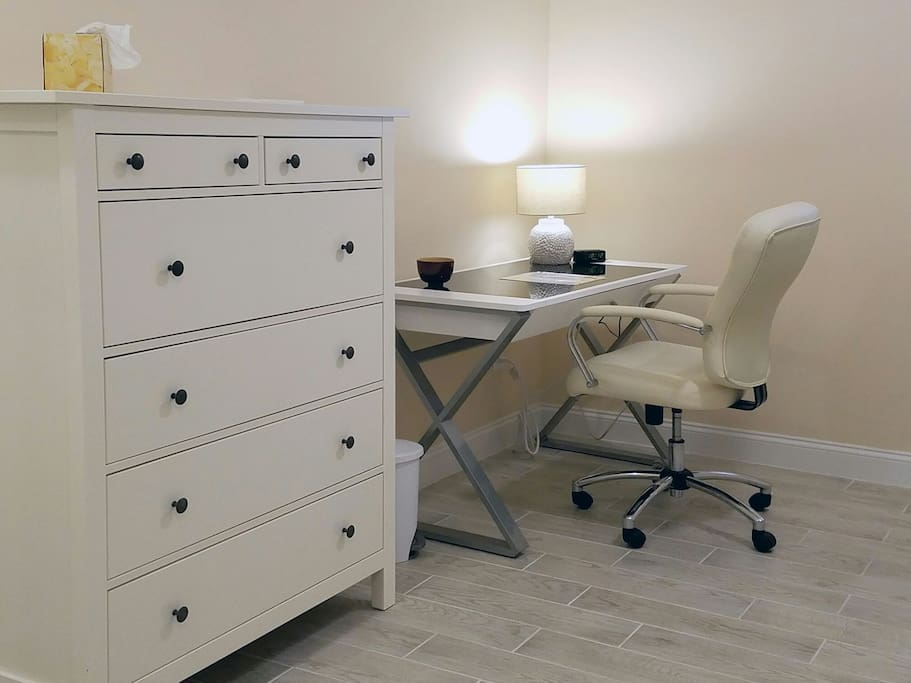 charming bedroom furniture and comfortable work desk