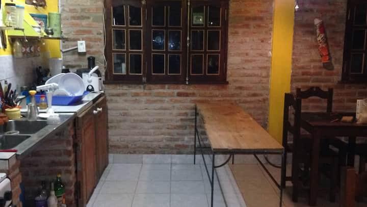 Habitación doble privada en Hostel Céntrico