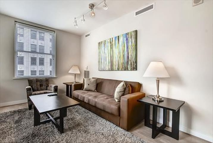 Lux 2 Bedroom near White House w/wifi