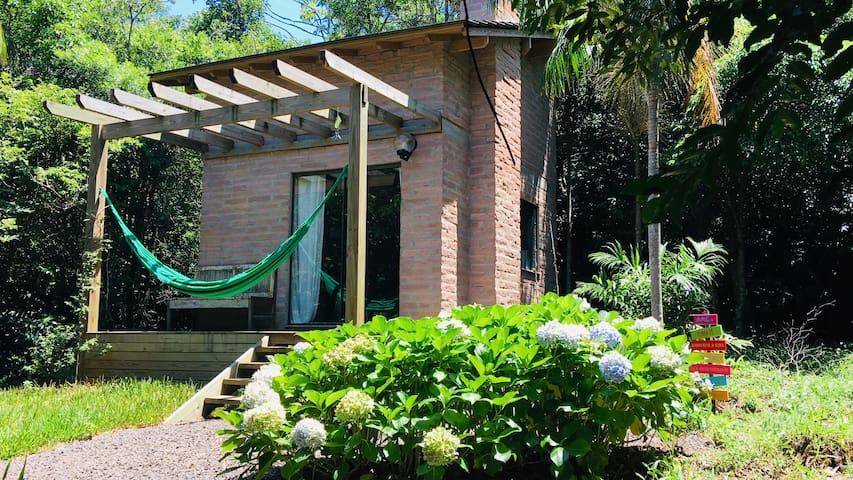 Cabana do Mirante no Morro da Borussia.