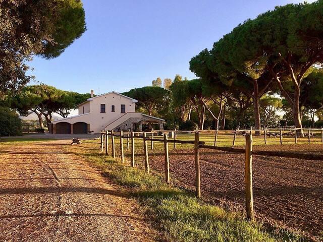 La Maremmana: organic farm with beach access