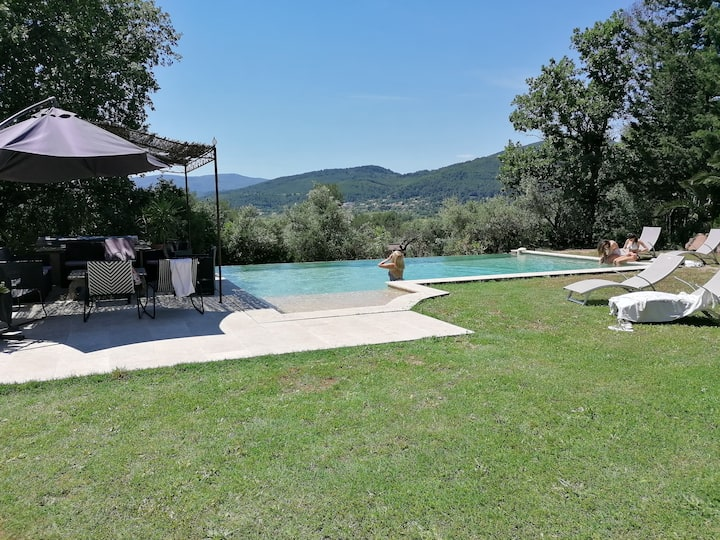 New villa in Provence 20 minutes from the beaches