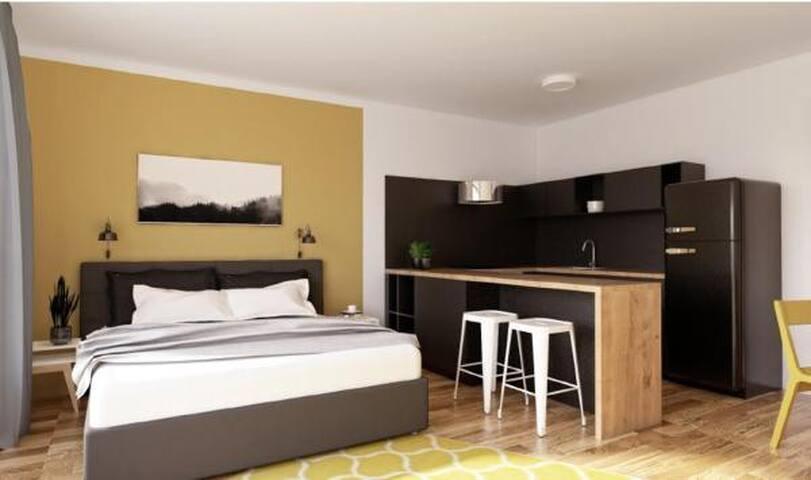 Park Rokytka - new terrace apartment, free parking