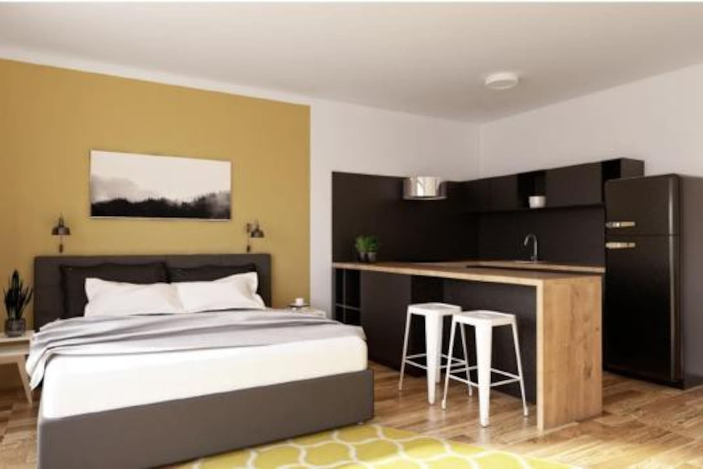 Park Rokytka - new terrace apartment with free parking in Prague