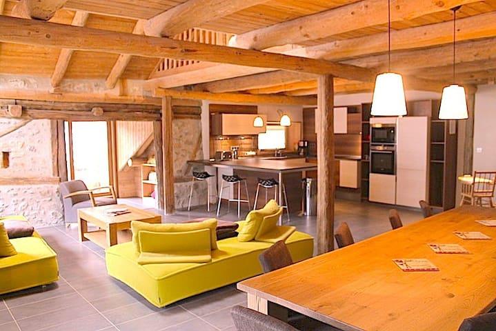 Chalet, jacuzzi, sauna. Briançon Serre Chevalier