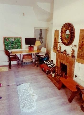 Cosy 1 bed cottage +courtyard in Dalston sleeps 3