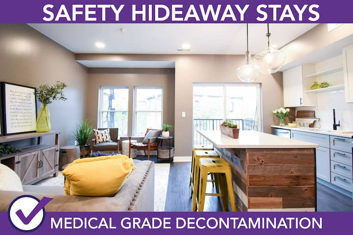 Safety Hideaway - Medical Grade Clean Home 70