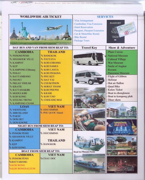 All kinds of travel, tours and activities arrangement are available for you to book here.