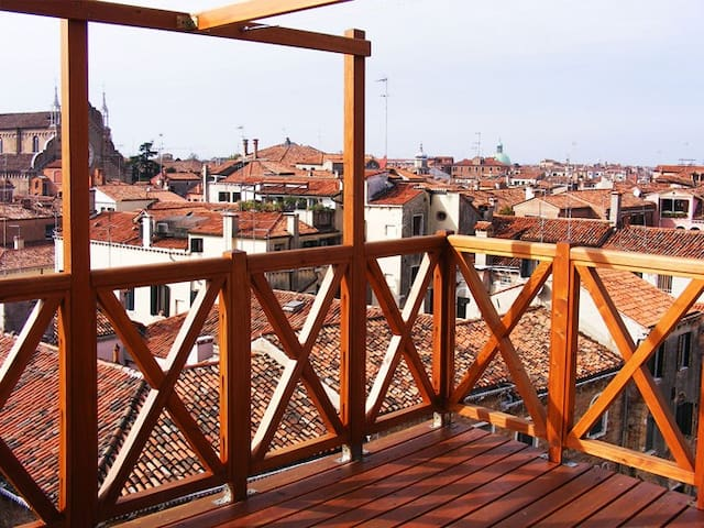 Apartment With Terrace, an amazing city view