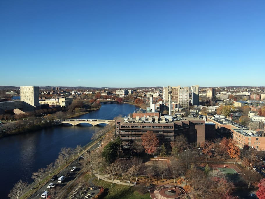 View of the Charles River