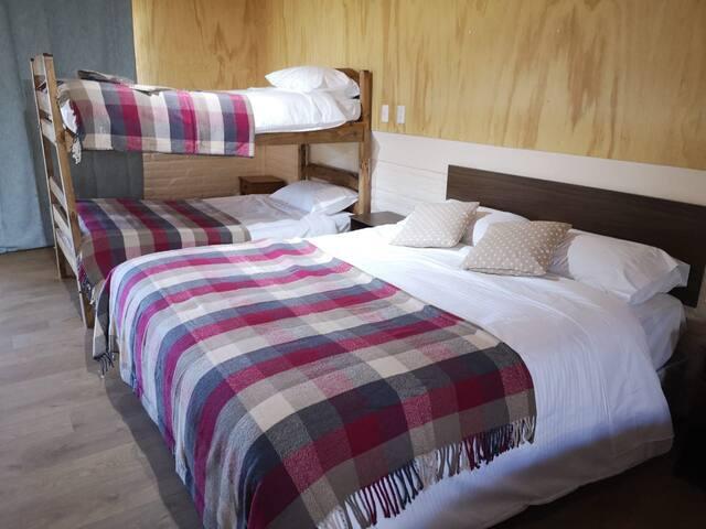 Modernas habitación privadas en Catillo