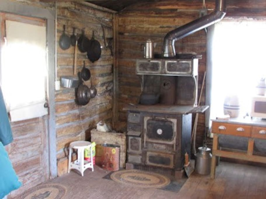 Authentic Wood stove