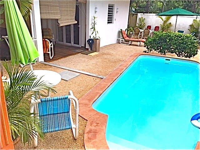 Poolside Holiday Home, Trou aux Biches, North (G)