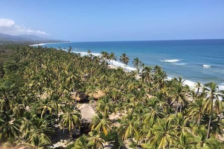 Naturaleza con Playa Pikua Ecolodge - 聖瑪爾塔