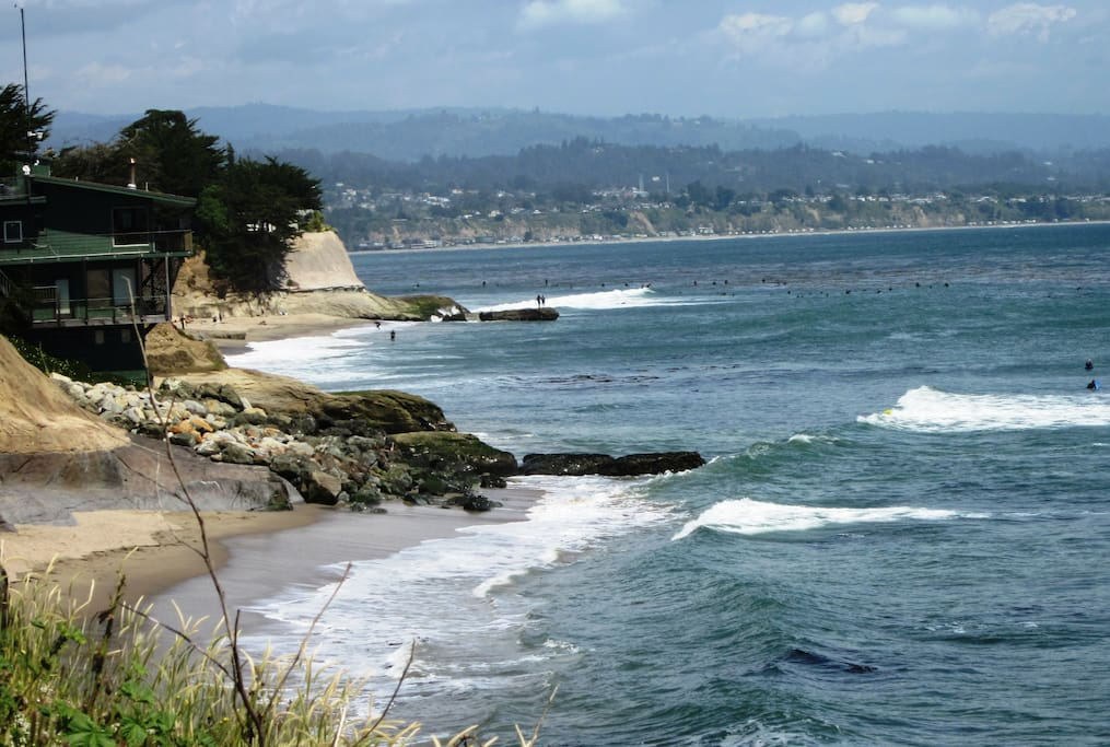 Located on Monterey Bay, between Santa Cruz and Old Capitola by the Sea