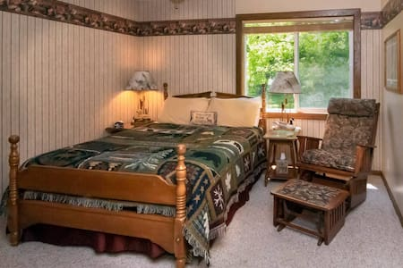 Up North Suite at Leech Lake Resort B&B