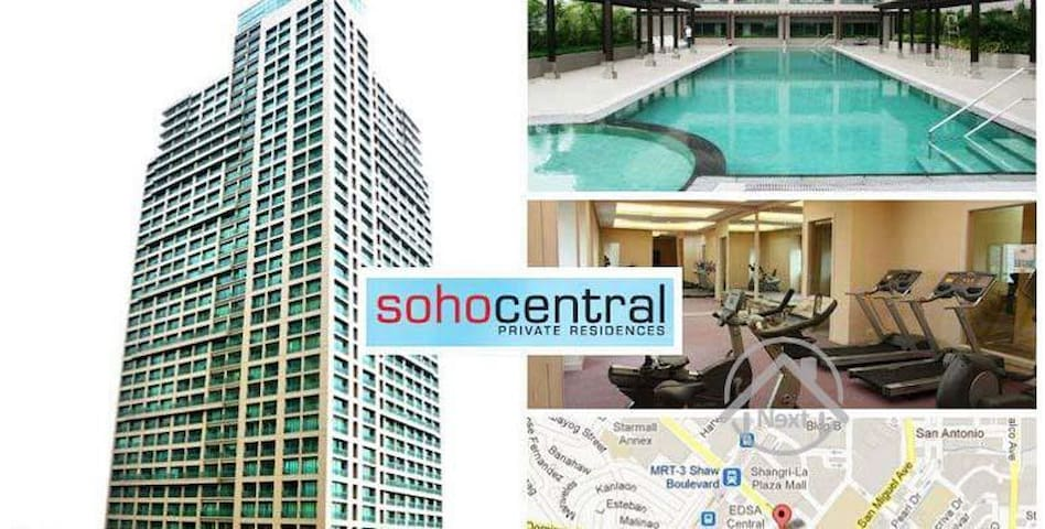 AURA3409Homey Staycation Place ( Shang&Megamall)