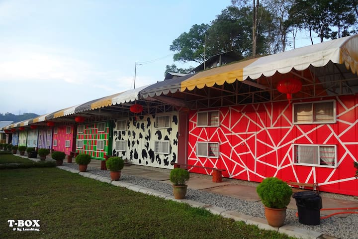 Colorful Cabin 1 - Sungai Lembing - Cabin