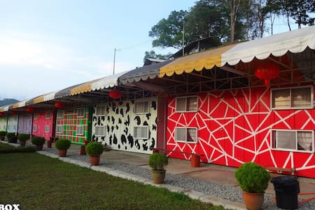Colorful Cabin 1 - Sungai Lembing - กระท่อม