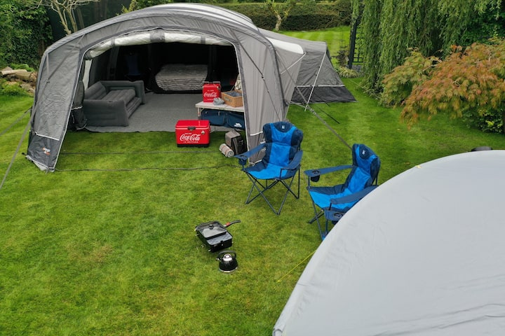 8 Person Luxury Air Tent Pick Up and Drop Off