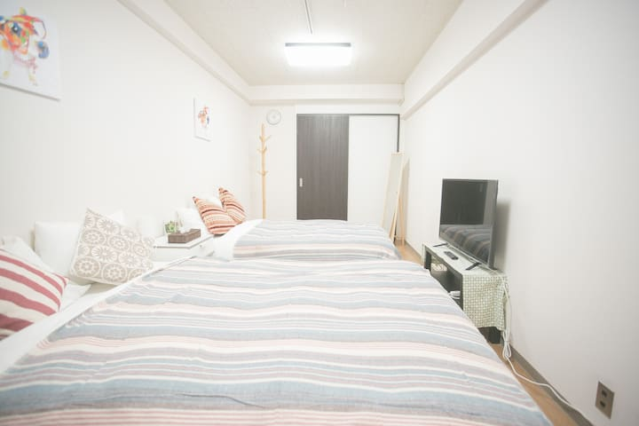 [New open!]Luxury condo,1mins walk to JR station - Shinjuku-ku - Flat